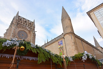 catedral de burgos en navidad