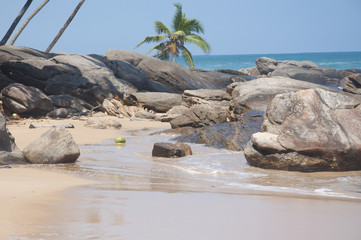 A beautiful day at the beach in Tangalle, Sri Lanka