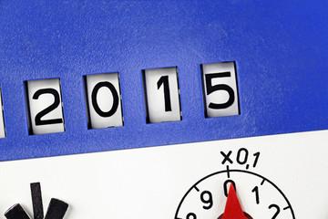 meter reading 2015