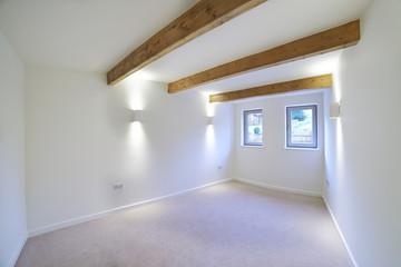 Interior View Of Beautiful Luxury Empty Bedroom