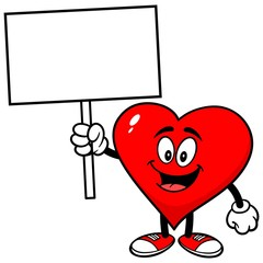 Heart with Sign