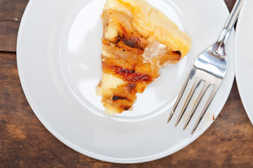 fresh pears pie