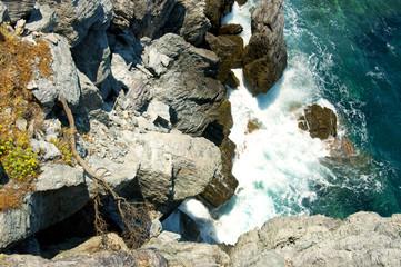 Rocks in a beach at Skopelos