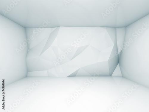 abstrakcjonistyczny-blekitny-3d-wnetrze-z-poligonalnym-reliefowym-pa