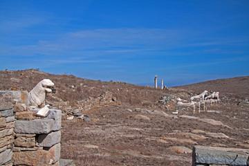 Löwenterasse auf Delos