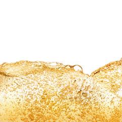 Golden bubbles