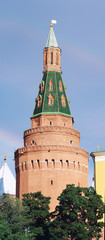 Moscow Kremlin, Russia. Tower