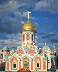 Kazan Cathedral in Moscow Kremlin, Russia
