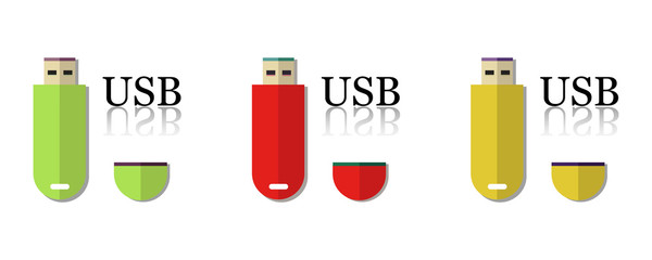 USB flash drive set