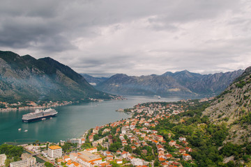 Kotor, Montenegro, a bird's-eye view