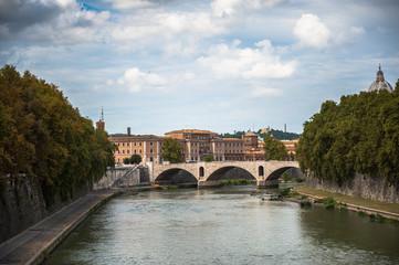 River Tibra in Rome, Italy