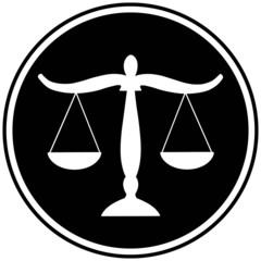 Justice Scales Symbol