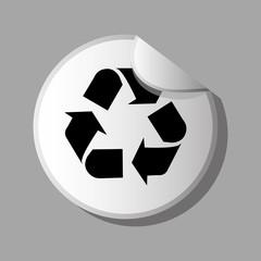 eco sticker design