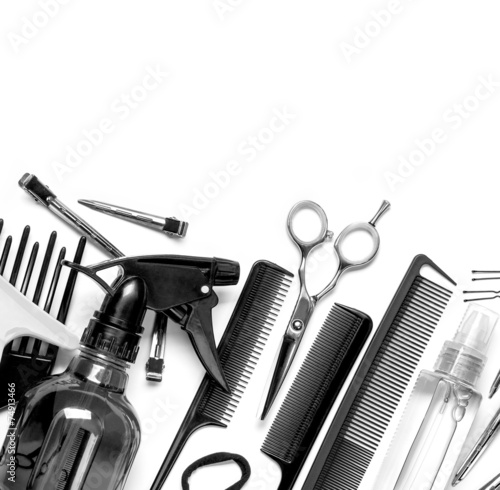 hairdresser tools - 74913466