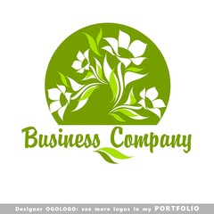nature, leaf, garden, trees, green, tree, logo, floral, fresh