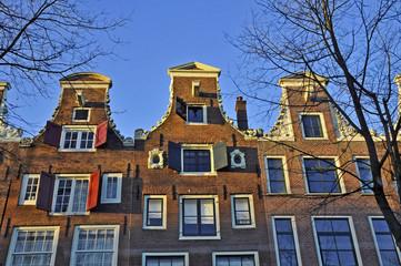 Amsterdam, case tradizionali - Olanda
