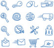 Icon set internet & shopping - 74915844