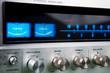 Leinwanddruck Bild - Stereo receiver