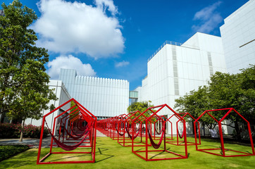 High Museum in midtown Atlanta
