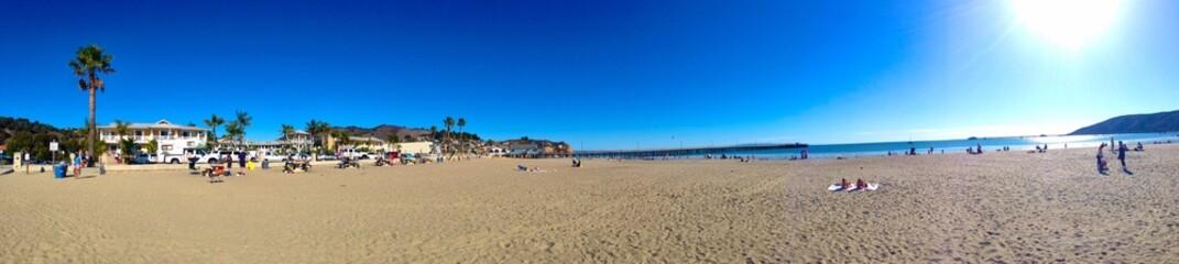 A very nice sunny day in Avila Beach CA