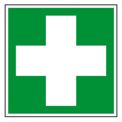 Schild Erste Hilfe nach DIN und ASR