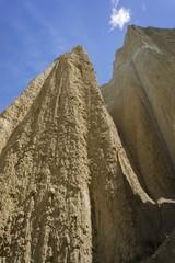 Putangirua Pinnacles. New Zealand