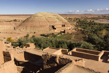 The Kasbah of Ait Benhaddou Outlook