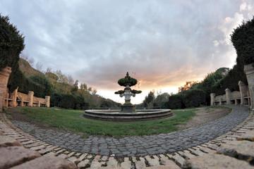 italian Garden Fountain