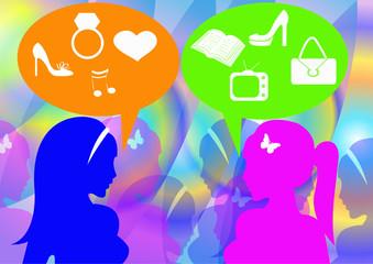 Women and gossip