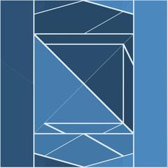Vintage Hipster Geometric Pattern Background Vector