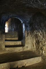The cave monastery in Old Orhei. Moldova