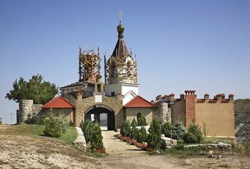 St. Mary's Church in Old Orhei. Moldova