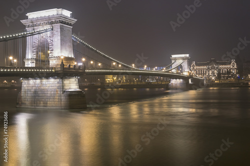 Budapest, Bridge over Danube