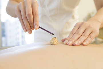 Moxibustion and incense