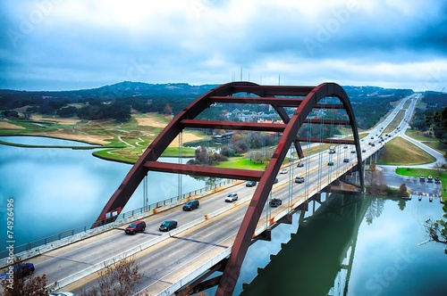 Pennybacker Bridge, Austin, Teksas
