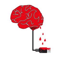 brain fall