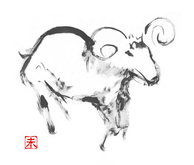 羊イラスト01