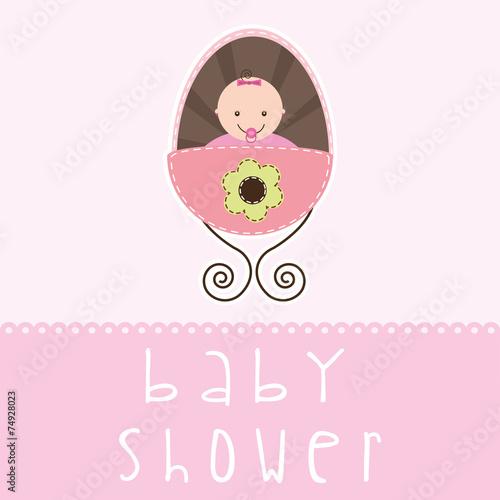 In de dag Retro sign baby shower