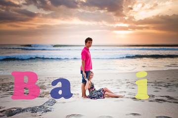 wedding couple at Bali