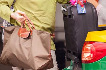Loading luggage