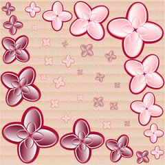 flower pattern. vector illustration