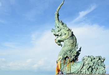 Naga Buddha statue in Thailand