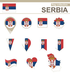 Serbia Flag Collection