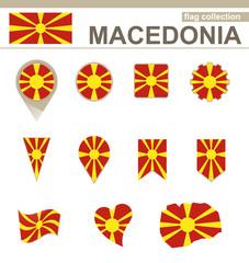 Macedonia Flag Collection