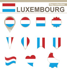 Luxembourg Flag Collection