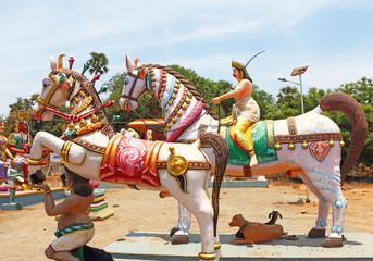 auroville statue park india