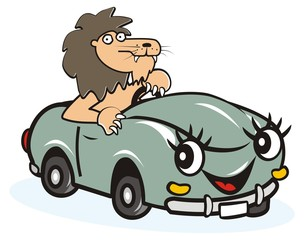 car and leo