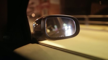 Car rear-view mirror