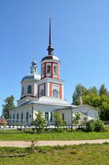 Церковь Петра и Павла в городе Кашин Тверской области