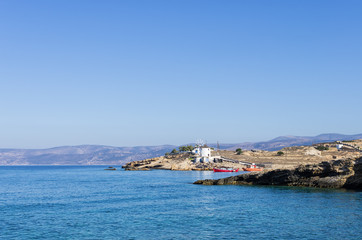 Scenery in Ano Koufonisi island, Cyclades, Greece